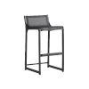 This item: South Beach Dark Graphite 31-Inch Bar Stool