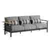 This item: South Beach Dark Graphite and Gray Sofa