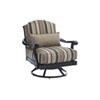 This item: Kingstown Sedona Ebony and Beige Swivel Lounge Chair