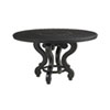 This item: Kingstown Sedona Ebony 54 In. Dining Table with Cast Top