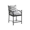 This item: Pavlova Graphite and Gray Counter Stool