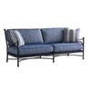 This item: Pavlova Graphite and Blue Sofa