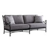 This item: Pavlova Graphite and Gray Sofa