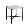 This item: Pavlova Graphite and White Rectangular End Table