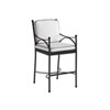 This item: Pavlova Graphite and White Bar Stool