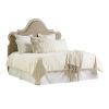 This item: Malibu Warm Taupe Zuma Upholstered Queen Headboard