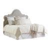 This item: Malibu Warm Taupe Zuma Upholstered King Headboard