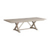 This item: Malibu Warm Taupe 88-Inch Rockpoint Rectangular Dining Table