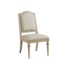 This item: Malibu Warm Taupe Aidan Upholstered Side Chair