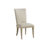 This item: Malibu Warm Taupe Serra Upholstered Side Chair