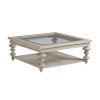 This item: Malibu Warm Taupe Castlerock Cocktail Table