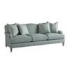 This item: Upholstery Green Sydney Sofa With Brass Casters