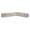 This item: Upholstery Biege Corner Colony Sectional