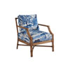 This item: Upholstery Blue and White Redondo Chair