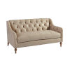 This item: Upholstery Warm Taupe Hyland Park Leather Settee