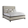 This item: Brentwood Beige and Brown Bristol Tufted Upholstered King Bed