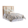This item: Newport Sandstone and Beige Crystal Cove Upholstered Queen Panel Headboard