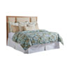 This item: Newport Sandstone and Beige Crystal Cove Upholstered King Panel Headboard