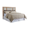 This item: Newport Sandstone and Gray Crystal Cove Upholstered California King Panel Headboard