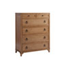 This item: Newport Brown Goldenrod Chest