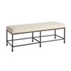 This item: Newport White Ruby Bed Bench