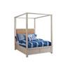 This item: Newport Sailcloth Shorecliff Queen Canopy Bed
