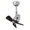 This item: Diane Brushed Nickel Oscillating Directional Ceiling Fan with Matte Black Wood Blades