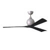 This item: Irene-3 Brushed Nickel and Matte Black 60-Inch Outdoor Ceiling Fan