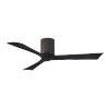This item: Irene-3H Textured Bronze and Matte Black 52-Inch Outdoor Ceiling Fan