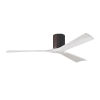 This item: Irene-3H Textured Bronze and Matte White 60-Inch Outdoor Ceiling Fan
