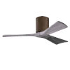 This item: Irene-3H Walnut and Barnwood 42-Inch Outdoor Ceiling Fan