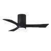 This item: Irene-3HLK Matte Black 42-Inch Ceiling Fan with LED Light Kit