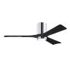 This item: Irene-3HLK Polished Chrome and Matte Black 52-Inch Ceiling Fan with LED Light Kit