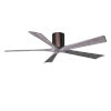 This item: Irene-5H Brushed Bronze and Barnwood 60-Inch Outdoor Ceiling Fan
