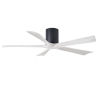 This item: Irene-5H Matte Black and Matte White 52-Inch Outdoor Ceiling Fan