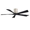 This item: Irene-5H Barnwood and Matte Black 52-Inch Outdoor Ceiling Fan