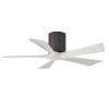 This item: Irene-5H Textured Bronze and Matte White 42-Inch Outdoor Ceiling Fan