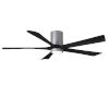 This item: Irene-5HLK Brushed Nickel and Matte Black 60-Inch Ceiling Fan with LED Light Kit