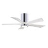 This item: Irene-5HLK Polished Chrome and Matte White 42-Inch Ceiling Fan with LED Light Kit