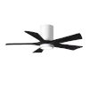 This item: Irene-5HLK Gloss White and Matte Black 42-Inch Ceiling Fan with LED Light Kit
