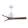 This item: Mollywood Matte White 42-Inch Ceiling Fan with Walnut Blades