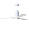 This item: Patricia-3 Gloss White 52-Inch Ceiling Fan with LED Light Kit