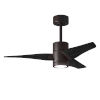 This item: Super Janet Textured Bronze and Matte Black 42-Inch Ceiling Fan with LED Light Kit