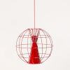 This item: Latitude Red LED One-Light Pendant