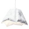 This item: Gloss White LED One-Light Pendant