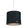 This item: Kobe Charcoal LED One-Light Pendant with 3000K
