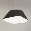 This item: Rd2Sq Black LED One-Light Pendant