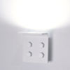 This item: Matt White LED ADA One-Light Wall Sconce with 3000K