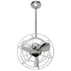 This item: Bianca Directional Polished Chrome 13-Inch Ceiling Fan with Metal Blades