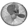 This item: Kaye Brushed Nickel 13-Inch Oscillating Wall Mounted Fan